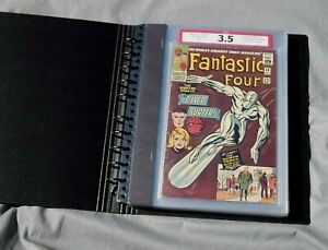 Fantastic Four #50 CPA 5.72 avg grade Complete comic graded in Single Pages