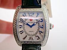 Michele Urban mini Diamond bezel Stainless Steel Watch MW02A01A2991