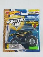Hot Wheels Monster Jam Shocker 1/64th Monster Truck Re-crushable car Flashback