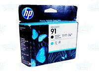 Genuine HP 91 Matte Black/Cyan Printhead DesignJet Z6100 42ln Z6100 60ln C6460A