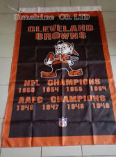 Cleveland Browns Super Bowl Champions Flag hot sell goods 3X5FT 150X90CM Banner