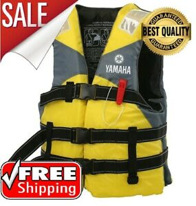 Yamaha Life Vest Outdoor Rafting Jacket For Swimming Snorkeling Fishing Drifting