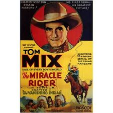 The Miracle Rider - Cliffhanger Movie Serial DVD  Tom Mix  Joan Gale
