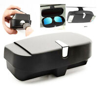 New Car Storage Box Sun Visor Clip Sunglasses Case Eye Glasses Holder