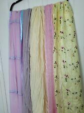 Bundke of Spring Summer Scarves Hijabs Indian Asian Floaty Chiffon