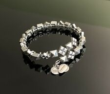 Alex and Ani silver tone beaded wrap bracelet NEW