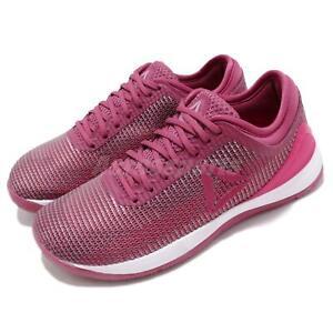 Reebok R CrossFit Nano 8.0 Berry Pink White Lilac Women Training Shoes CN2978