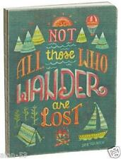 NOT ALL THOSE WHO WANDER ARE LOST~ LINED JOURNAL / NOTEBOOK ~ TOLKIEN ~ NEW