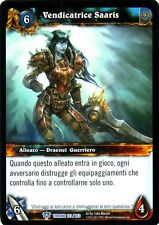WOW Vendicatrice Saaris THRONE 133/263 ITA NEAR MINT WORLD OF WARCRAFT