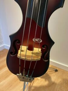 BSX Hollow body Electric Upright Double Bass for sale inc gig bag and stand.
