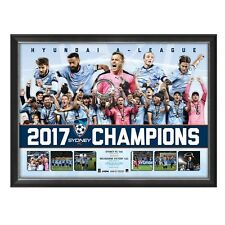 SYDNEY FC 2017 A-LEAGUE CHAMPIONS FRAMED LIMITED EDITION PRINT