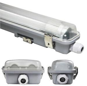 LED Leuchte Feuchtraumlampe Wannenleuchte Wannenlampe Neonlampe Neonröhre IP65
