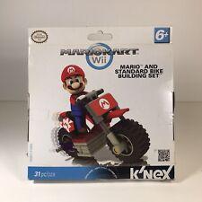 K'Nex MarioKart Wii Mario and Standard Bike Set 31 Pcs