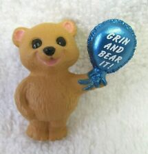 "Hallmark 1990 Merry Miniature Everyday - ""Grin & Bear It"" Bear - #Qfm171-6"