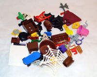 50 LEGO Accessories For Mini Figures Random Selection Including Rares Mixed