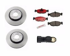 Jaguar XJ8 XJR XK8 XKR Front Brembo Disc Brake Rotors/Pads/ Ate ABS Speed Sensor