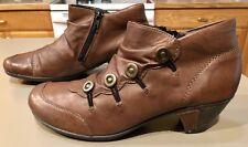 Remonte Dorndorf Women's Annemarie Brown Boot Booties 41( US 9.5  10 M ) #D1293