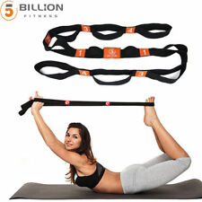 "71"" x 1.8"" Yoga Rope Strap with Multiple Grip Loops Flexibility & Body Shape"