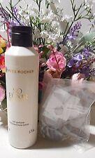 "Yves Rocher presents ""Vanille Noir"" perfumed lotion 6.7 FL.OZ PLUS Free necklace"