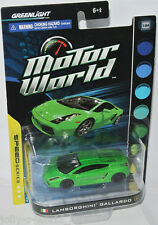 Greenlight MOTORE World-LAMBORGHINI GALLARDO-Green - 1:64