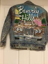 VINTAGE TONY ALAMO BEVERLEY HILLS  Size XL 16/18 DENIM JACKET