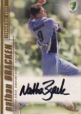 CRICKET - 2003/04 Nathan Bracken Autograph Card #SS09 (Ikon Collectables)