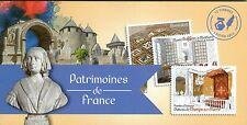 CARNET NEUF ** LUXE - LIVRET - PATRIMOINES DE FRANCE - TIMBRES AUTOADHESIFS