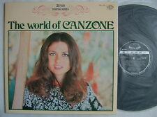 GIGLIOLA CINQUETTI COVER / THE WORLD OF CANZONE