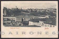 BIELLA CITTÀ 142 PIAZZO Cartolina viaggiata 1900