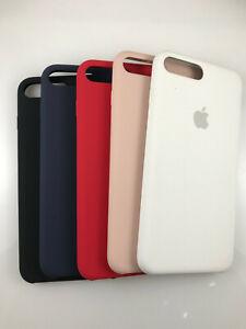 100% Original Genuine OEM Authentic Apple Silicone Case for iPhone 7 Plus 8 Plus