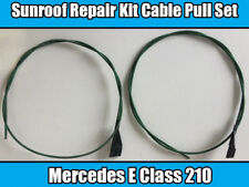 MERCEDES SUNROOF REPAIR CABLE PULL SET FITS E-Class W210 - Right And Left - NEW