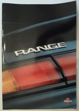NISSAN RANGE 1995 UK Mkt Sales Brochure - 200SX QX Primera Almera Micra Patrol