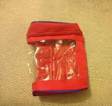 Total Oil 1 Litre Travel Pouch/Case/Bag Stores Oil Neatly in Boot of Car