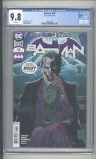 """BATMAN  #93  CGC 9.8  """"JOKER  COVER"""""""