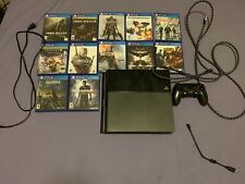 Sony PS4 500GB Adult Owned With 11 Games And 1 Controller