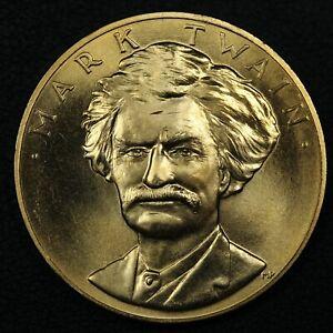 1981 Mark Twain US Mint American Arts Commemorative Series 1 oz Gold Medal
