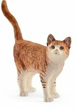Schleich 13836 Orange Tabby Cat Model Toy Animal Model Figurine 2017 - NIP