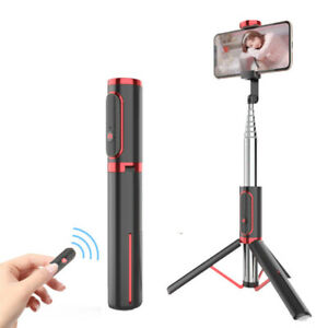 All-in-one Cell Phone Holder Tripod Stand Selfie Stick For Live Stream Video