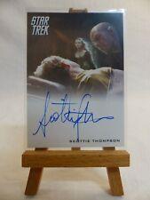 Star Trek The Movies 2009 autograph trading card Scottie Thompson Nero's Wife