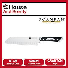 NEW Scanpan Classic 18cm Santoku Knife with Granton Edge Germen Steel 18112