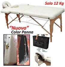 LETTINO MASSAGGI Portatile NUOVO (12Kg) Estetica Fisioterapia Tatuaggi (+SCONTO