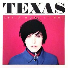 FRENCH CDr SINGLE PROMO TEXAS LET'S WORK IT OUT CARDBOARD SLEEVE RARE COLLECTOR