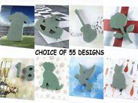 Funeral Memorial Tribute OASIS® Fotoflorals Wet Foam 55 Design Shapes Floristry