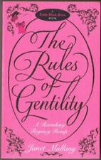 """""""The Rules of Gentility"""", By Janet Mullany, Used Book."""