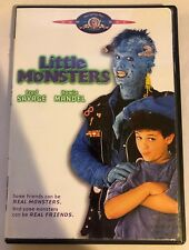 Little Monsters (DVD, 2004) Rare OOP Fred Savage Howie Mandel Region 1 MGM VG