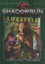 SHADOWRUN: LIFESTYLE 2080 - CYBER ROLLENSPIEL - (HC) - PEGASUS PRESS #45071G