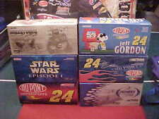 #24 JEFF GORDON 1/24 C.W. ACTION CAR LOT 1/2 CASE, SIX 6 CARS FREE SHIPPING