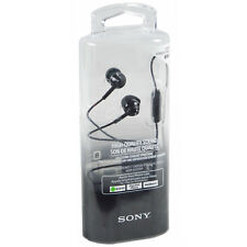 New Genuine Sony Stereo Headphone Headset Deep Bass Earphones With Remote + Mic