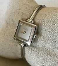 Gucci 1900 L Ladies Watch Stainless Steel Sapphire Crystal 3 ATM - NEEDS BATTERY