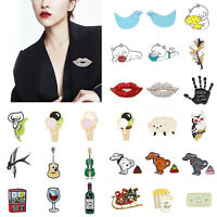 Lovely Cute Cartoon Enamel Lapel Collar Pin Corsage Brooch Fashion Jewelry Gift